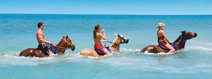 Jamaica Horsebackriding Beach