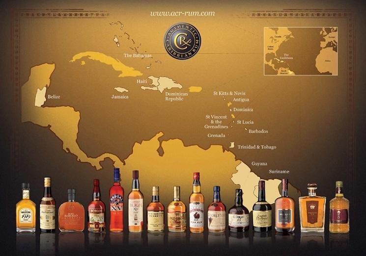 Authentic Caribbean Rum: Brands across the Region