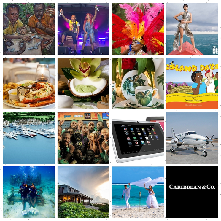 Caribbean & Co. lifestyle sectors