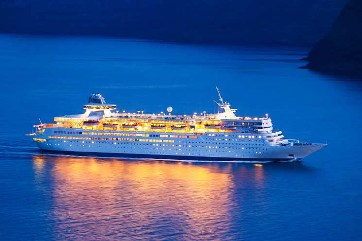Luxury Caribbean Cruise Ship