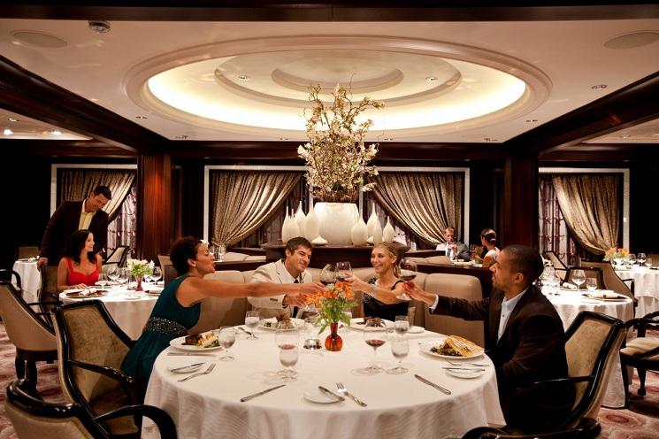 Luxury Caribbean Cruise Ship Dinning