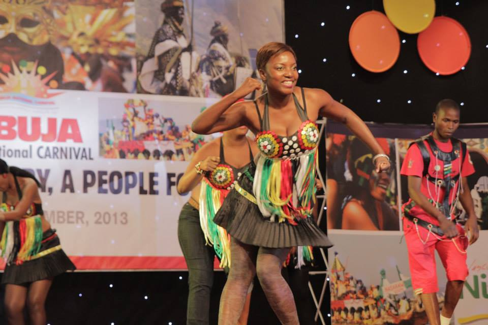 Dancers during Abuja Carnival in Nigeria