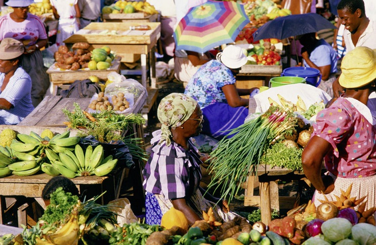 5 caribbean markets for exploration caribbean co for Jamaica fish market