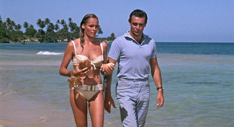 Dr No: Ursula Andress & Sean Connery