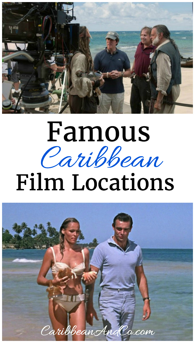 Discover some of the blockbuster Hollywood movies which have been filmed in the Caribbean.