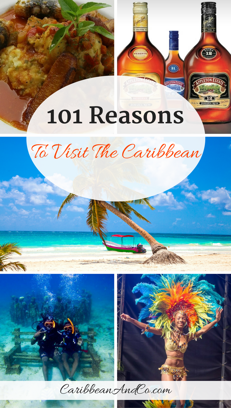 There are thousands of experiences that make booking a Caribbean vacation worthwhile -- here are 101 of our favorite reasons to travel to the Caribbean.