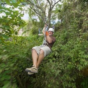 Antigua: Rainfore Canopy Tour: Ziplining