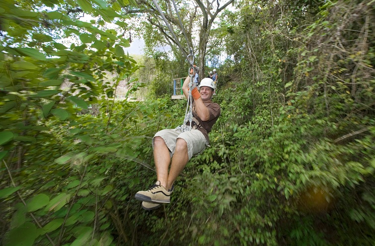 Antigua: Rainfore Canopy Tour: Ziplining
