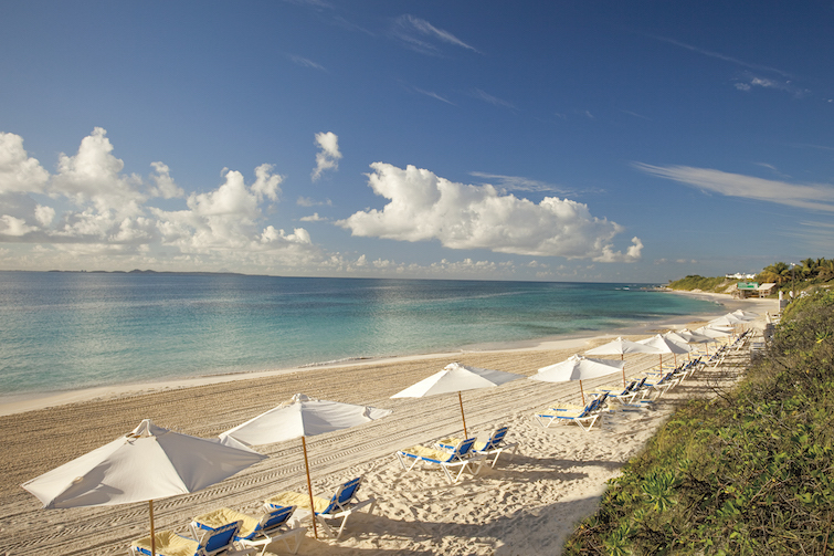 Anguilla: CuisinArt Golf Resort Spa Beach. Photo Credit: © Anguilla Tourist Board.