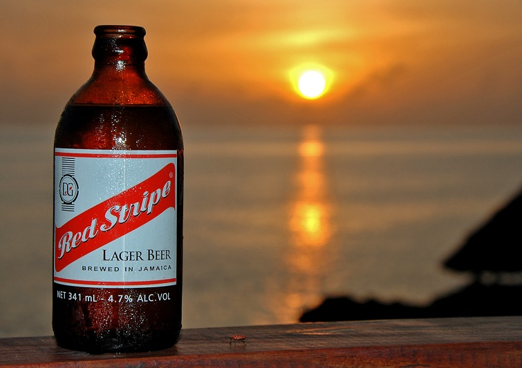 Jamaica: Red Stripe Beer