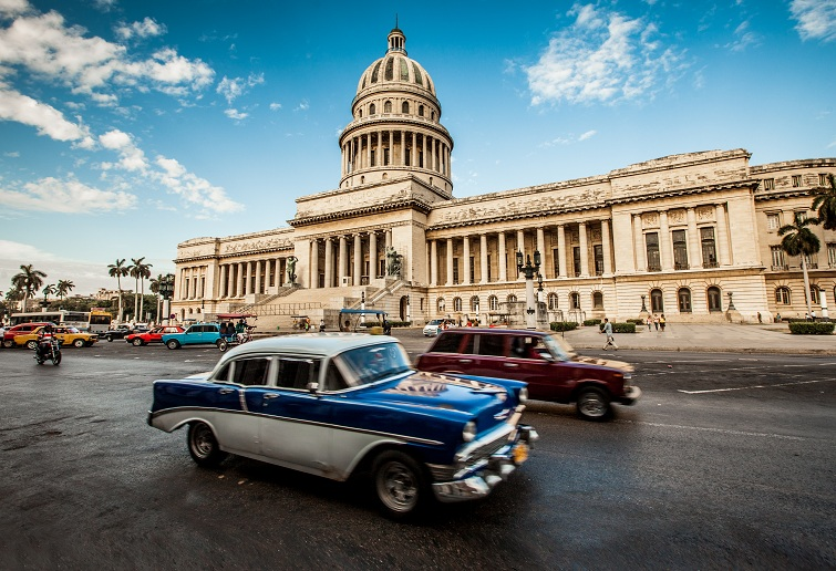 Cuba: Havana, Capital Building
