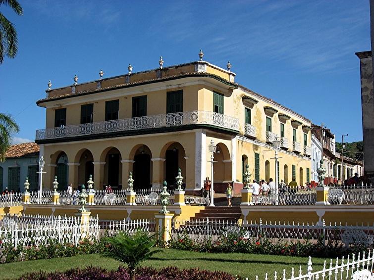 Cuba Palacio Brunet In Trinidad