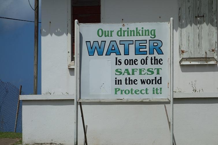Montserrat: Drinking Water