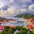 Saint Barthelemy: skyline and Gustavia Harbour. Photo Credit: © Sean Pavone/ Adobe.