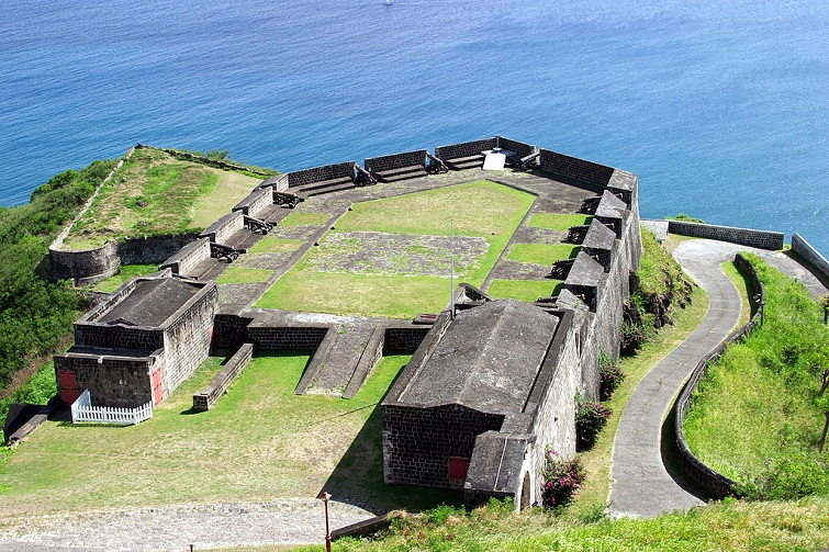 St Kitts: Brimstone Hill Fortress National Park