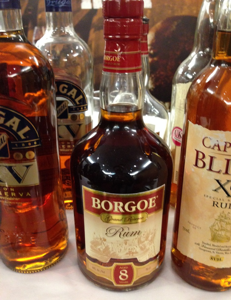 Authentic Caribbean Rum: Borgoe 8 Year Old Grand Reserve