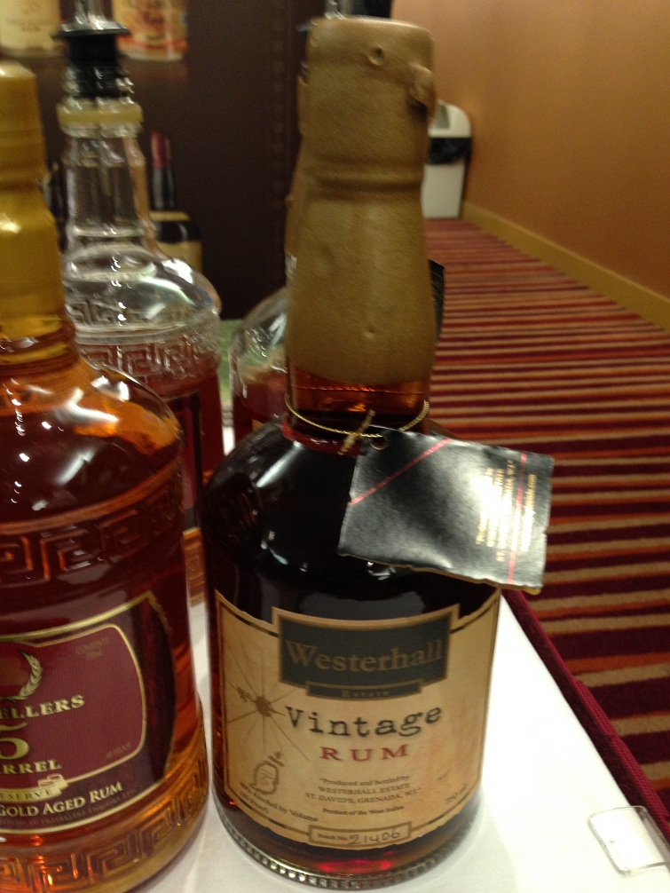 Authentic Caribbean Rum: Westerhall Vintage Rum
