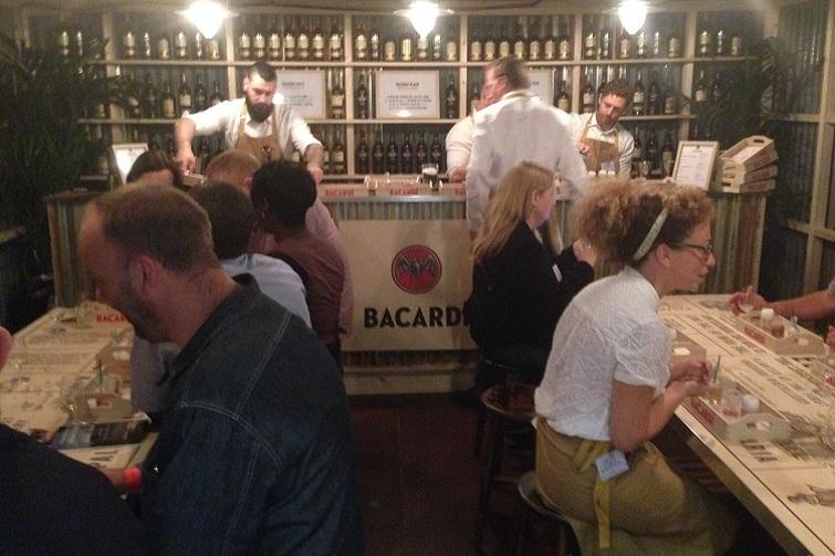 Rumfest 2014:  Barcardi Rum Cocktails