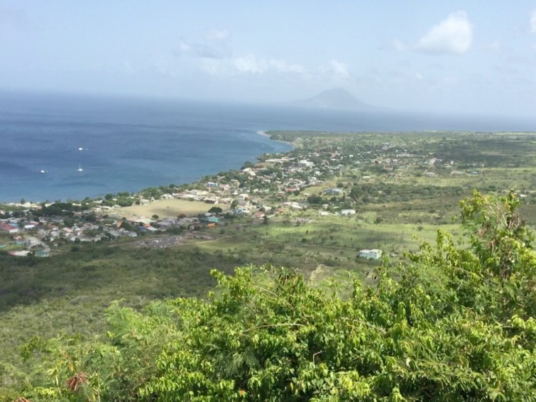 St Kitts: Brimstone Hill Fortress National Park - View of the Caribbean Sea. Photo Credit: © Ursula Petula Barzey.