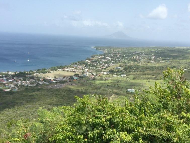 St Kitts: Brimstone Hill Fortress National Park - View of the Caribbean Sea. Photo Credit: © Ursula Petula Barzey.