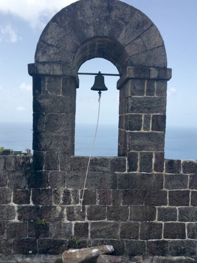 St Kitts: Brimstone Hill Fortress National Park - Bell Tower. Photo Credit: © Ursula Petula Barzey.