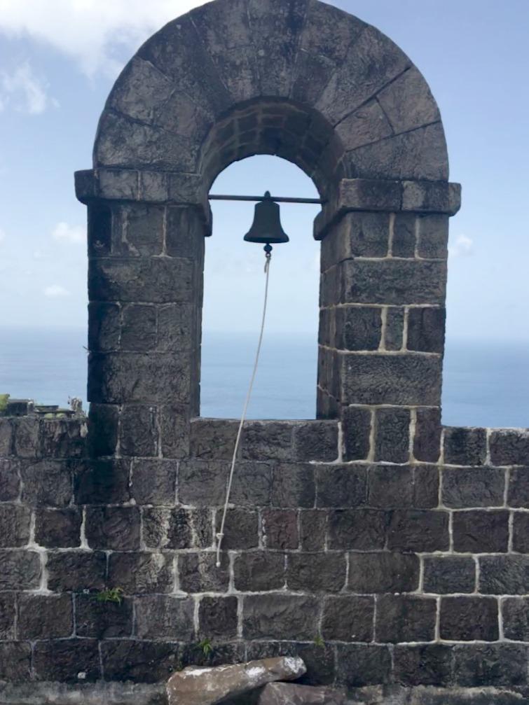 St Kitts: Brimstone Hill Fortress National Park - Bell Tower. Photo Credit: © Ursula Petula Barzey.