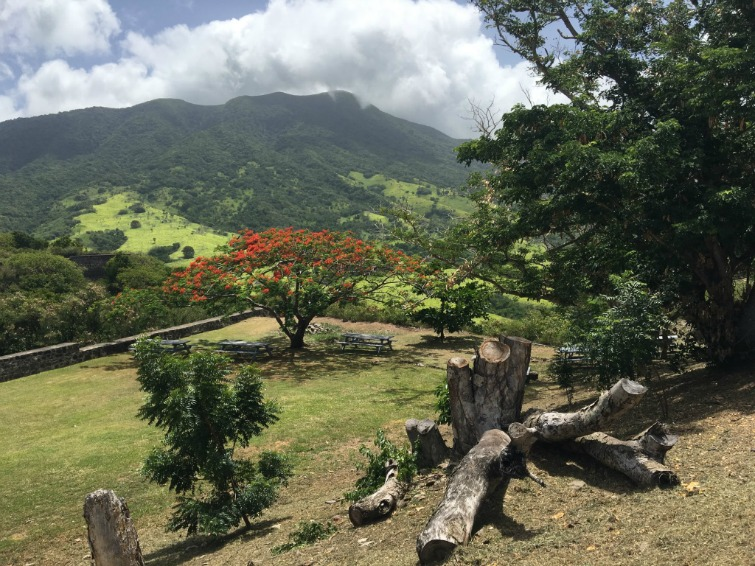 St Kitts: Brimstone Hill Fortress National Park - Picnic Area. Photo Credit: © Ursula Petula Barzey.