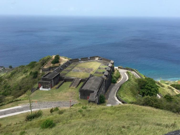St Kitts: Brimstone Hill Fortress National Park - Prince of Wales Bastion. Photo Credit: © Ursula Petula Barzey.