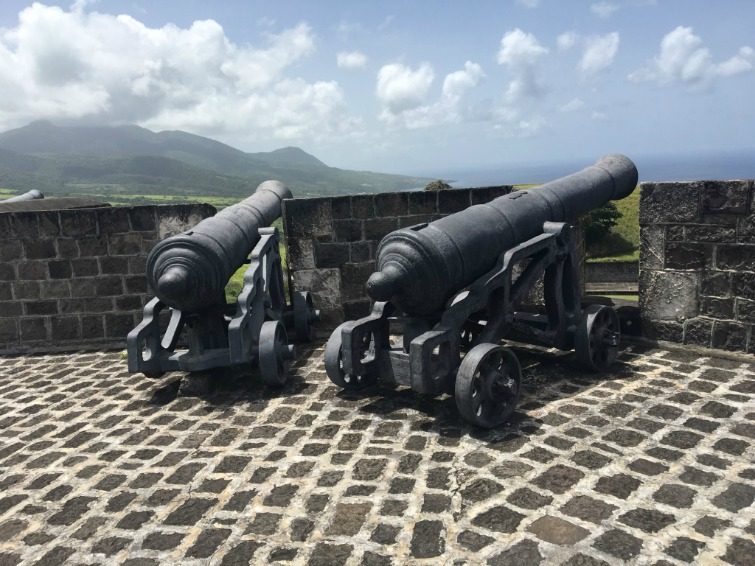 St-Kitts_Brimstone-Hill-Fortress-National-Park_Two-Cannons
