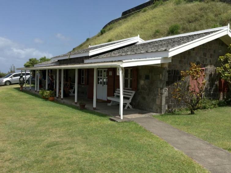 St Kitts: Brimstone Hill Fortress National Park - Visitor Center. Photo Credit: © Ursula Petula Barzey.