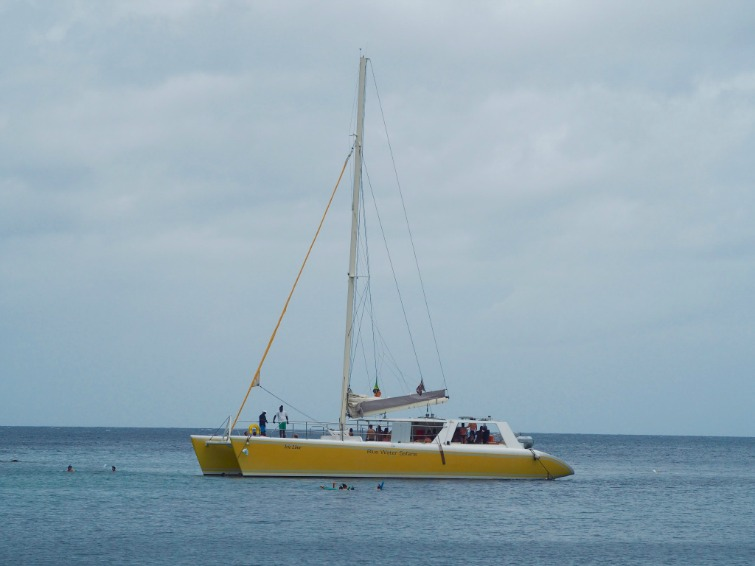 St Kitts: Catamaran Cruise with Blue Water Safaris. Photo Credit: © Ursula Petula Barzey.