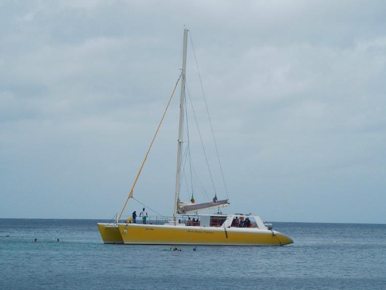 St Kitts: Catamaran Cruise with Blue Water Safaris. Photo Credit: © Ursula Petula Barzey.