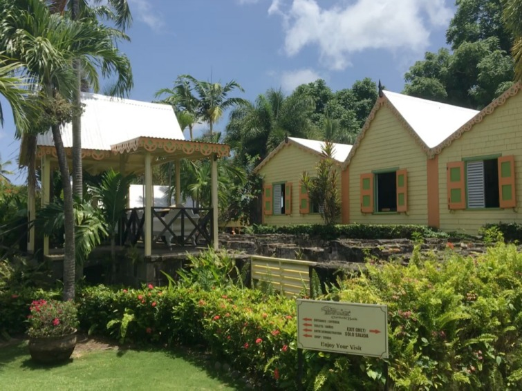 St Kitts: Romney Manor - Caribelle Batik. Photo Credit: © Ursula Petula Barzey.