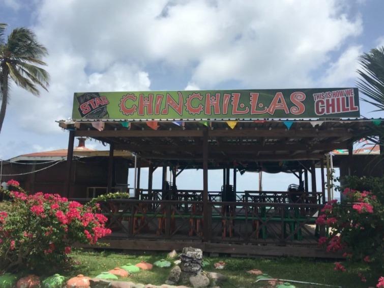 St Kitts: The Strip - ChinChilla's Mexican Restaurant & Bar. Photo Credit: © Ursula Petula Barzey.