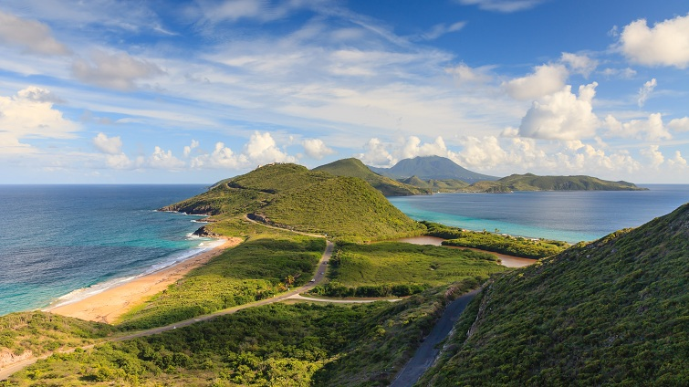 St Kitts: View from Timothy Hill