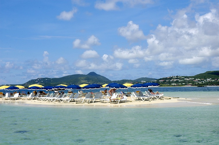 Beach in St Martin