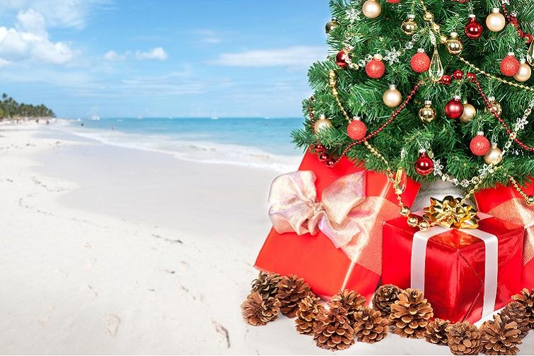 CaribbeanBeach_ChristmasTree