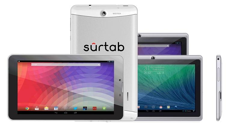 Surtab Computer Tablets