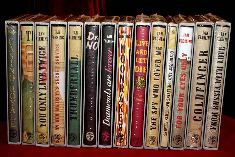 Ian Fleming: James Bond books