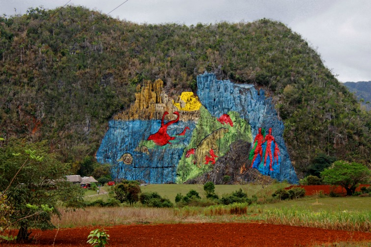 Cuba: Le Mural de la Prehistoria