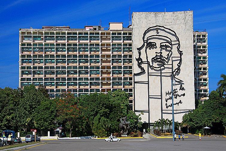 Cuban tourism: Portrait de Che Guevara