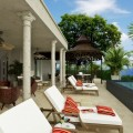 Barbados: Palazzate, a 75,000 sq ft luxury beachfront mansion - Terrace.