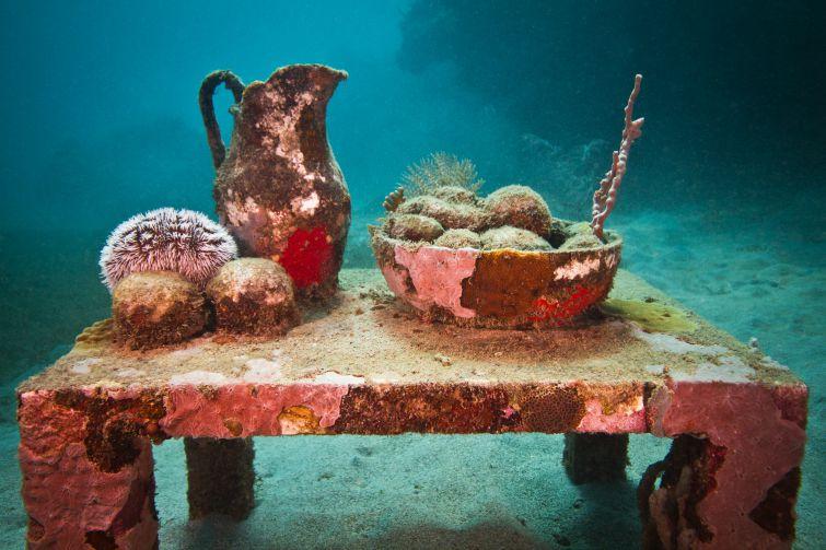 Grenada Underwater Sculpture Park - Unstill Life
