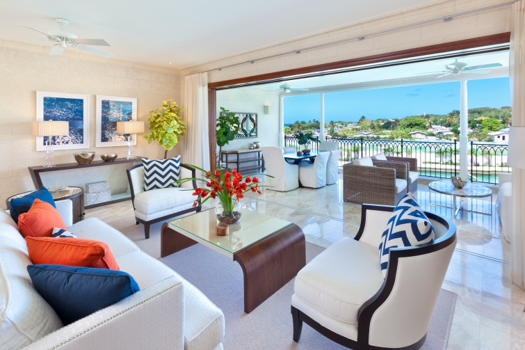 Port Ferdinand Marina & Luxury Resort - Open Plan Living & Terrace Dining