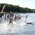 Nevis Triathlon 2014 - Swimmers