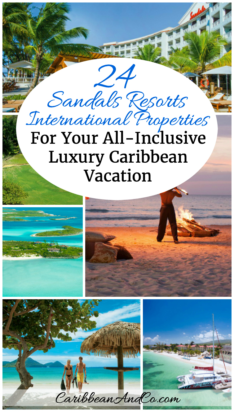 Looking to travel to the Caribbean for all-inclusive luxury beach vacation? Look no further than Sandals Resorts International with 24 hotel properties under 5 brands across 7 Caribbean destinations.