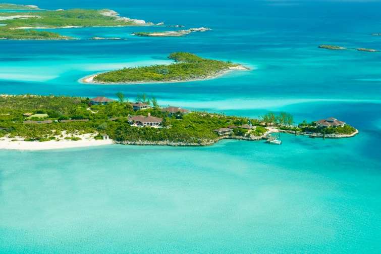 Sandals Resorts: Fowl Cay Aerial view.
