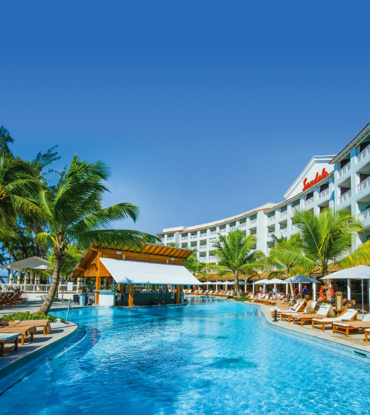 24 sandals resorts international properties for your all for All inclusive luxury beach resorts