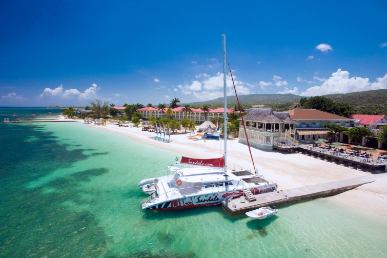 Sandals Resorts International - Sandals Montego Bay all-inclusive luxury hotel.