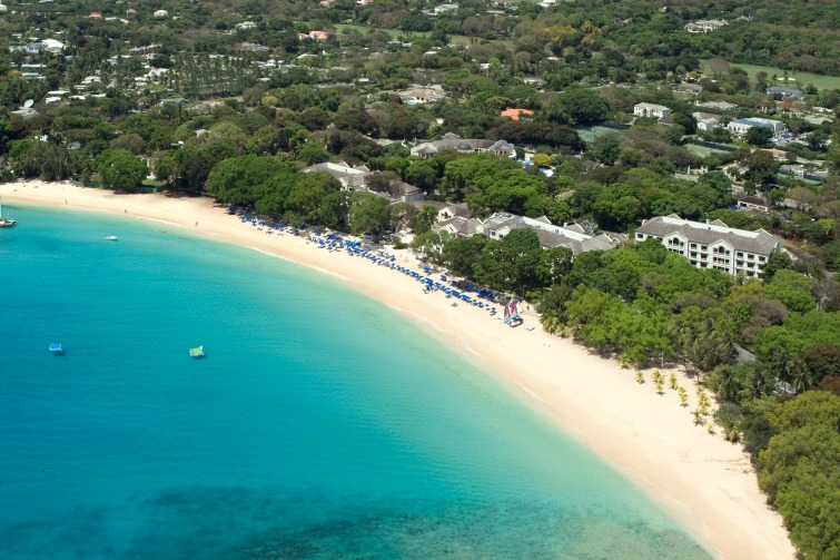 Barbados - Aerial view of the West Coast. Photo Credit: ©Dan Christaldi/Barbados Tourism Marketing.